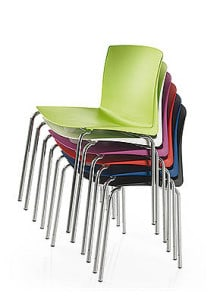 polyprop stacking chairs