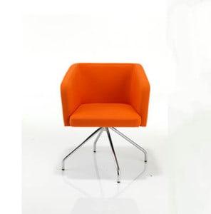 Orange Zara Armchair