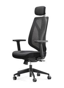High Back Black Mesh Chair