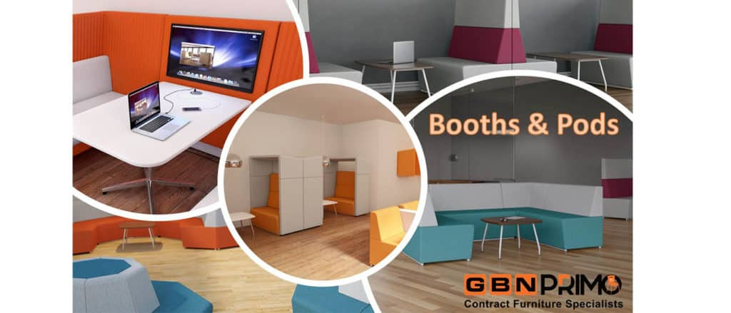 Booth & pods for my office