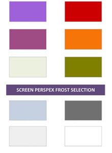 Dash perspex colours