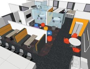 3D collaboration Area