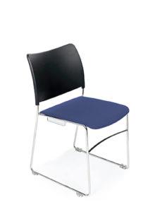 GB1131 Black Upholstered