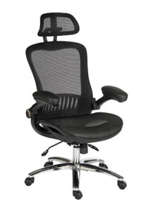 GB1136 Mesh back with headrest