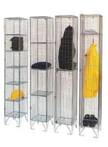 Individual mesh lockers