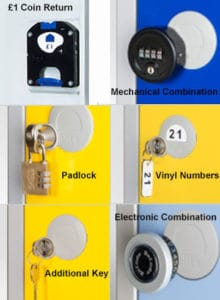 locker lock options