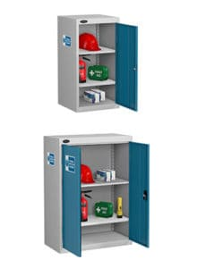 PPE Cabinets Small Blue