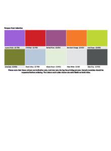 Perspex Colours