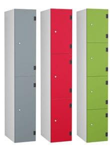Shockproof 2 3 4 door dark grey, red and lime