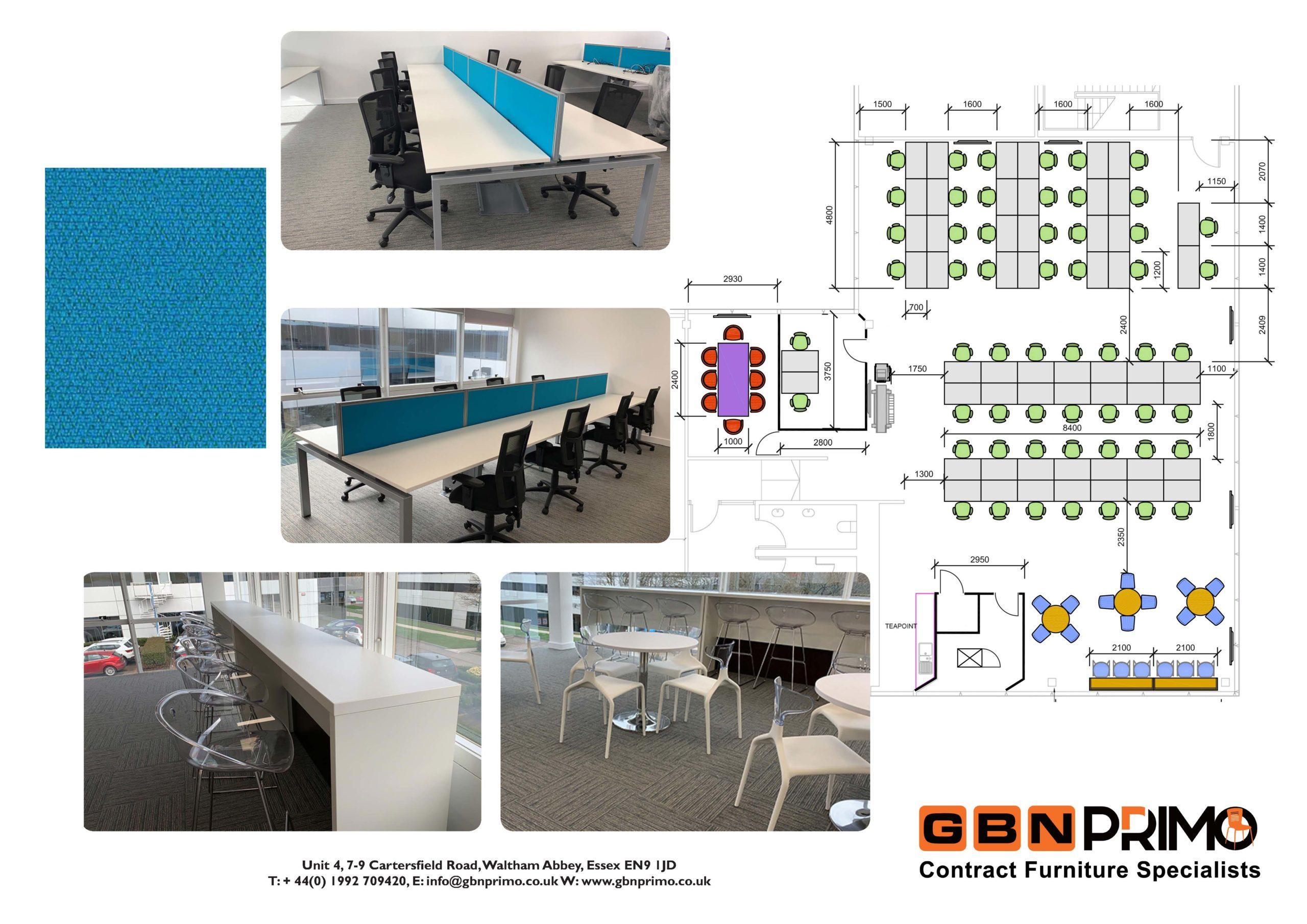 GBN Primo Office plan