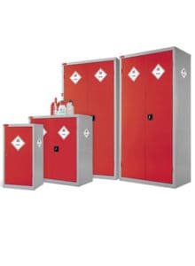 Toxic Cabinets Red