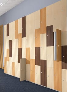 Timber Box lockers