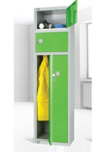 2 person locker Green