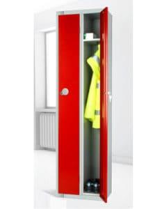 Workswear-twin-locker Red