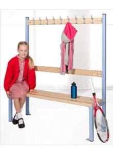 Primary island cloakroom seating